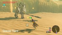 [BotW] Taking a Lynel to Gerudo Town (w/ Kara Kara Bazaar & Gerudo Canyon Stable)