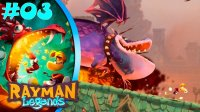 CASTLE ROCK | Rayman Legends #03