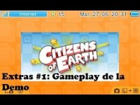 Citizens of Earth (3DS) Extras #1: Gameplay de la Demo