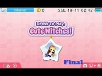 Dress to Play Cute Witches (3DS) Narrado Ultima Parte: Un final muy tardio
