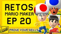 EP 20 RETOS MARIO MAKER VS Ricky