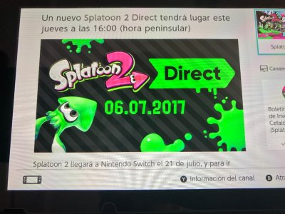 Especial splatoon 2