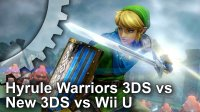 Hyrule Warriors New 3DS/3DS/Wii U Frame-Rate Test