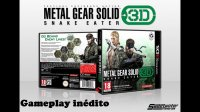 Metal Gear Solid 3D Snake Eater Gameplay Inedito 2013
