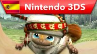 Monster Hunter Generations - Tráiler de los Gatadores (Nintendo 3DS)
