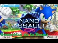 Nano Assault EX (3DS) Gameplay de la Demo