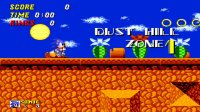 Sonic 2 Beta - Dust Hill Zone