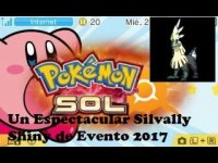 Un Espectacular Silvally Shiny de Evento 2017 (PKMN Sol)